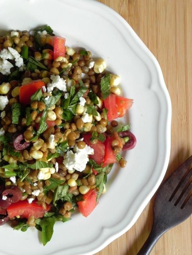 lentil summer salad #voraciousvander