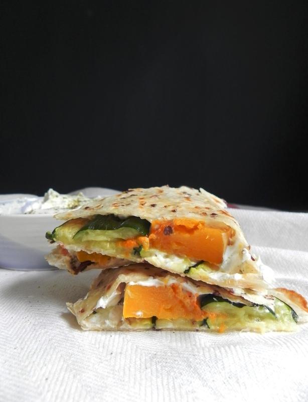 labneh quesadilla